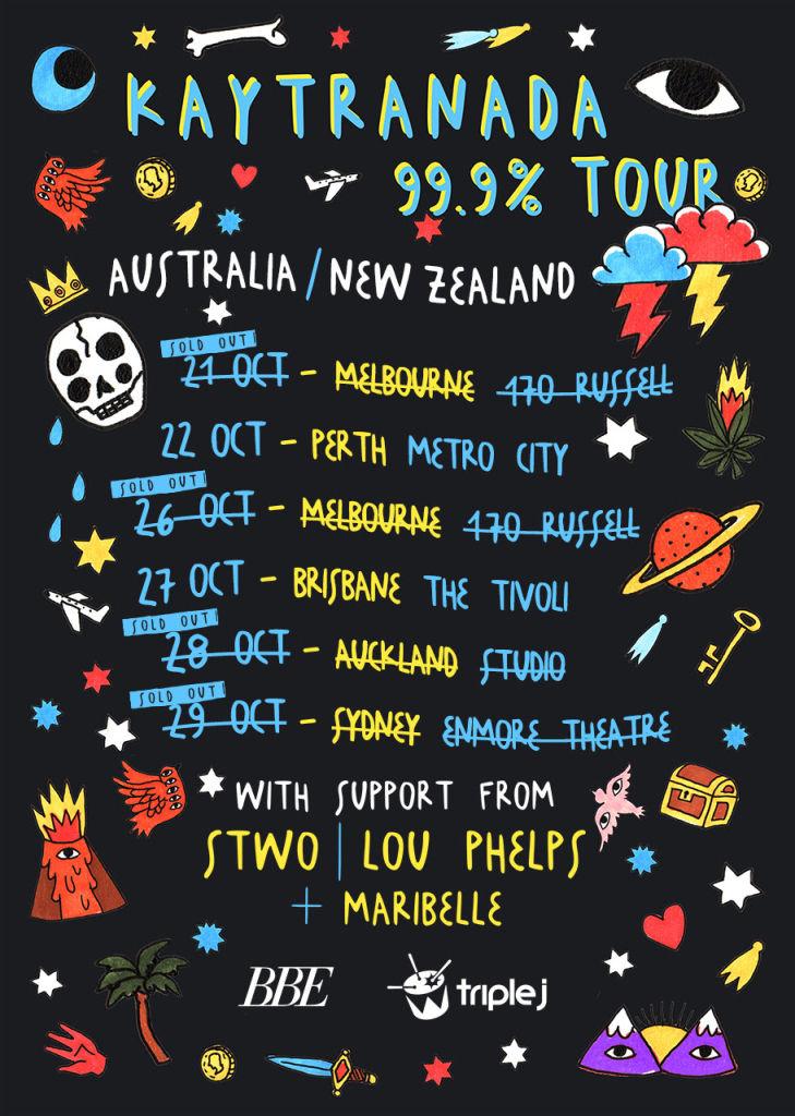 Kaytranada Tour Poster