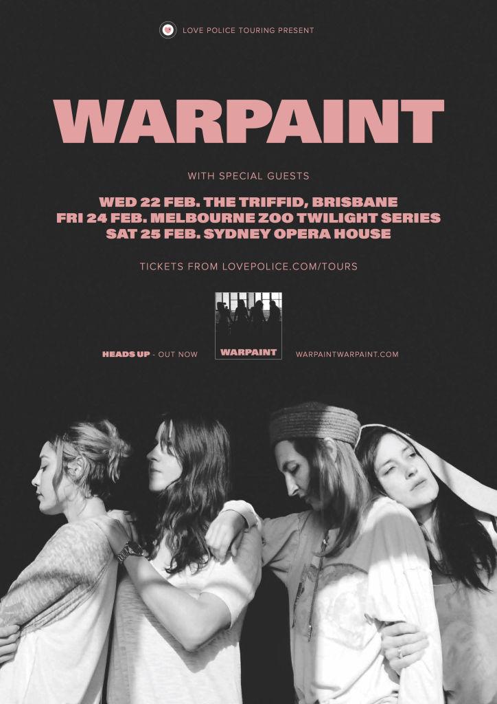 Warpaint tour