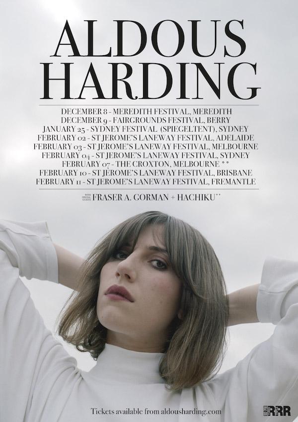 Aldous Harding AU tour