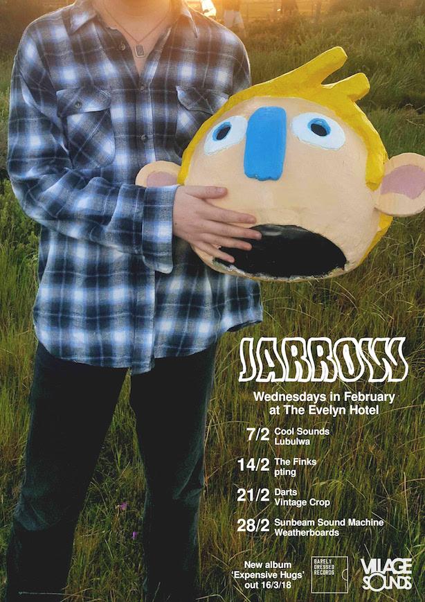 Jarrow residency poster
