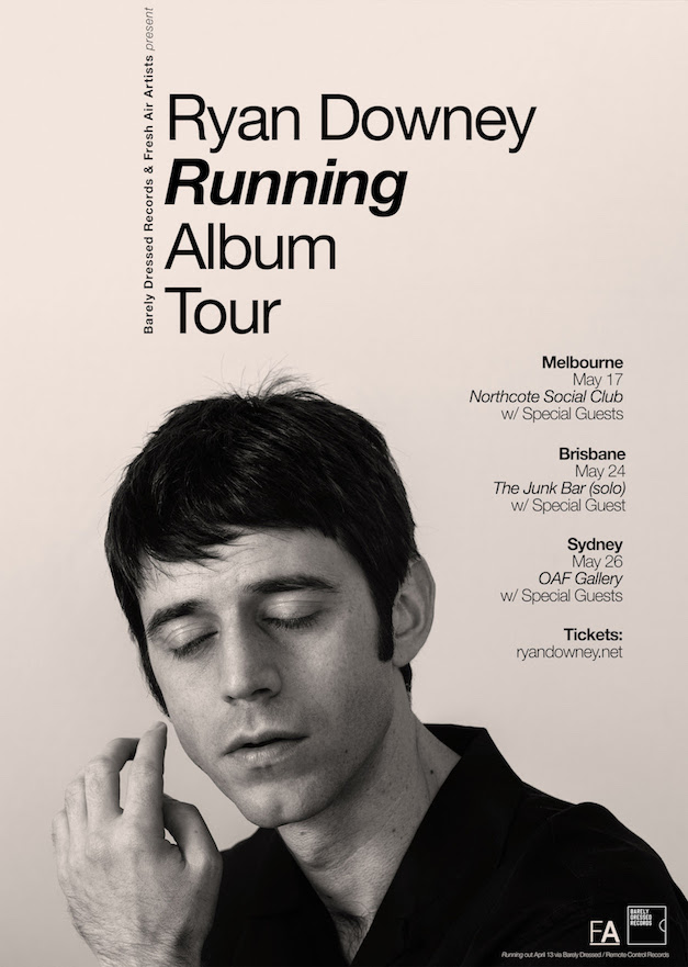 Ryan Downey tour poster