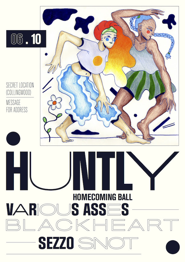 Huntly poster