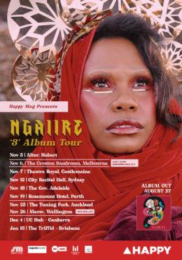Ngaiire – 3 Album Tour – Australia & NZ