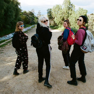 Chastity Belt sign to Milk! Records & announce new album